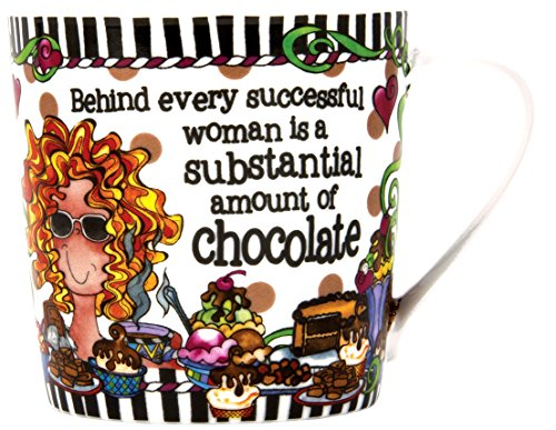 Brownlow Kitchen Brownlow Gifts Gift Mug, Suzy Toronto Successful Woman, Black/White