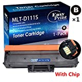 1x Compatible D111S MLT-D111S Toner Cartridge 111S for Samsung Xpress M2020W M2070W SL-M2070W SL-M2020W SL-M2070FW/XAA Wireless Printer (Black), by EasyPrint