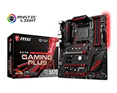 Supports AMD RYZEN Series Processors and 7th Gen A-series/ Athlon Processors. Supports DDR4-3200+(OC) Memory. Click BIOS 5: Award-winning BIOS with high resolution scalable font, favorites and search function. GAMING LAN with LAN Protect: The...