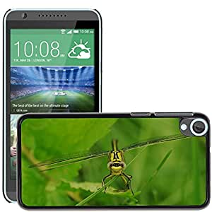 Super Stella Slim PC Hard Case Cover Skin Armor Shell Protection // M00103925 Dragonfly Insect Animal // HTC Desire 820