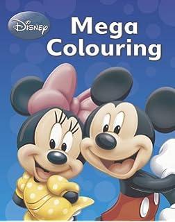 Disney Mickey Mouse Co Mega Colouring