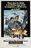27 x 40 Where Eagles Dare Movie Poster