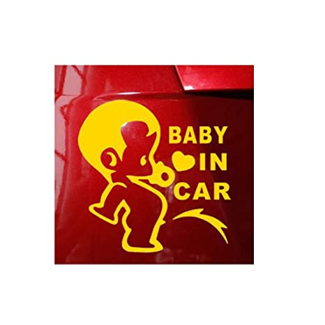 Pwtchenty Auto Aufkleber Decal Autoaufkleber Baby On Board
