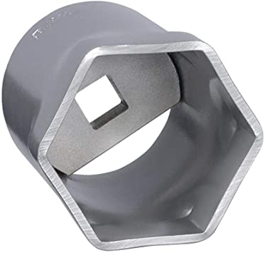 5-1//4 Steel Locknut Socket with 3//4 Drive Size and Natural Finish OTC