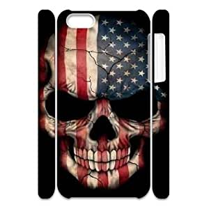 MMZ DIY PHONE CASERetro American Flag 3D-Printed ZLB527351 Unique Design 3D Phone Case for iphone 6 4.7 inch