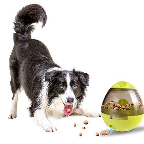 SIPIK Treat Dispensing Dog Toy Dog Toy IQ Treat Ball Pet Food Ball Interactive Treat Kibble Dispensing Dog Food Activity Treat Ball