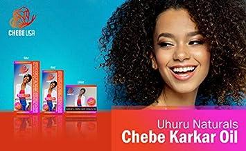 Uhuru Naturals Chebe Karkar Oil – Organic Conditioner w/Virgin Cold Pressed  Sesame Seed &...