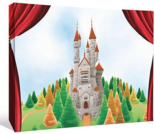 JP London LCNV2069 Make Believe Theatre Kids Castle 2