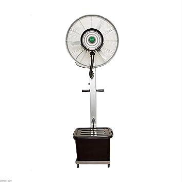 Fan Fan Humidificador Ventilador de Niebla Industrial Spray 260W Oscilante 3 velocidades: Amazon.es: Hogar