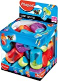 Maped Color'Peps 2 Hole Pencil Sharpeners - Assorted Colours (Pack of 24) 043111
