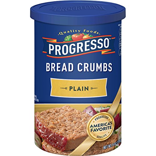 Plain Bread Crumbs - Progresso Plain Bread Crumbs, 8 oz (Pack of 12)