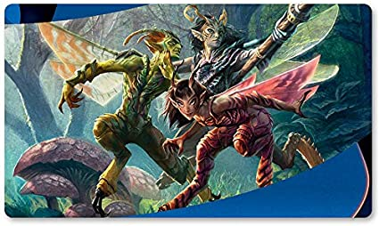 Alfombrilla de Juego para Juegos de Mesa de 60 x 35 cm, diseño de Vendilion Clique de Yugioh Pokemon Magic The Gathering: Amazon.es: Oficina y papelería