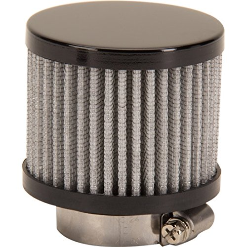 Black Valve Cover Breather Filter, 1-3/8 Inch Speedway Motors