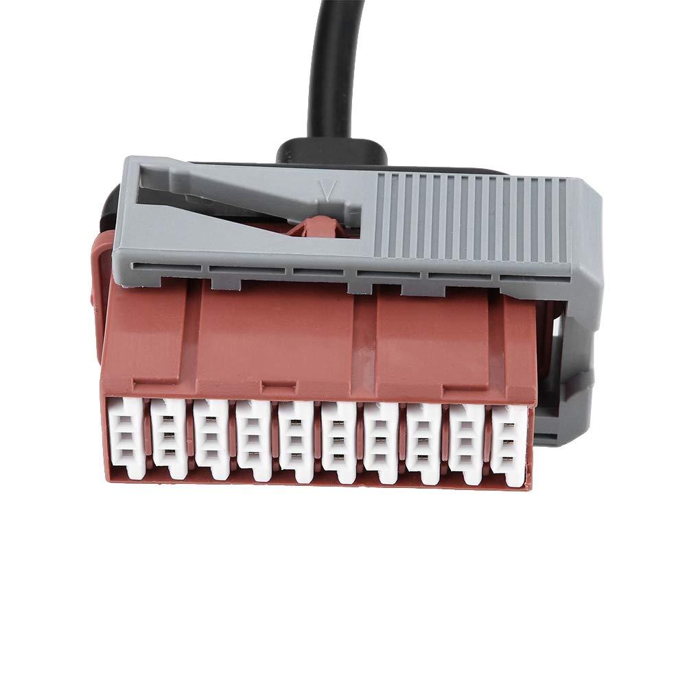 Interfaz OBD2 de los Cables de la Herramienta de diagn/óstico del Coche 8pcs Cables de diagn/óstico del Coche para Delphi ds150e para Autocom CDP Pro