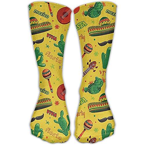 Long Tube Compression Socks Travel Flight Socks Fiesta Party Dancing Patriot Running Fitness Sockings