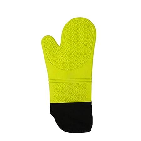 Guante para horno Un par de guantes de horno de silicona ...