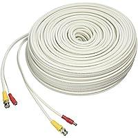 LOREX CB250URB Cb250urb Video Rg59 Coaxial Bnc/Power Cable, 250 (White)