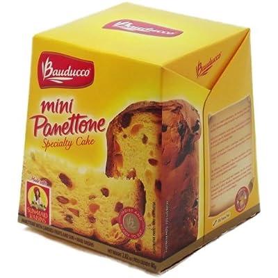 Panettone w/ Candied Fruits 'N Sun - Maid Raisins - Bauducco - 2.82oz 80g