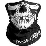 Indie Ridge Skull Motorcycle Face Mask Microfiber Multifunctiona Headwear for Motorcycle Riding, Ski, Snowboard Hiking Cycling Mask