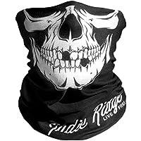 Indie Ridge Skull Motorcycle Face Mask Microfiber...