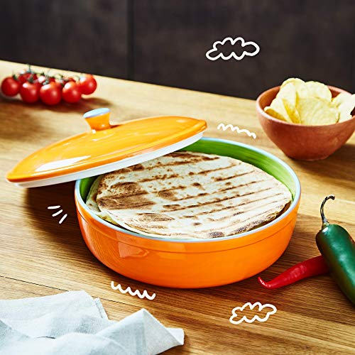 Uno Casa Ceramic Tortilla Warmer - Holds up to 15 Pcs - Measures at 8.5 Inch by Uno Casa (Image #6)