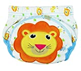 PW Surplus Toddlers Cotton Reusable Potty Training Pants Designer Underwear (Fits 17-26 lbs)(3 Pack Mixed Animals) (one Dog, one Lion, and one Cow) (Medium, Boys)