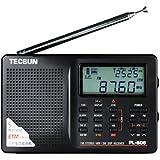 Tecsun PL-606 Digital PLL Portable Radio FM Stereo/LW/SW/MW DSP Receiver (Black)