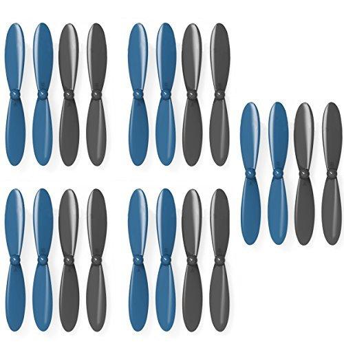 AVAWOプロペラプロップブレードローター5 h107lクアッド xコンボプロペラfor ブルー Hubsan Blue+Black x4 h107 h107d h107 C h107lクアッド ブルー AW1153 Blue+Black B00OZLBX6K, ホナミマチ:01bd40fe --- itxassou.fr