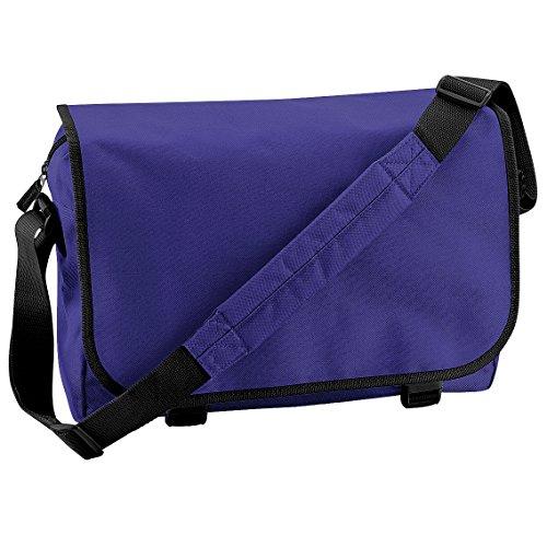 Bagbase Schultertasche / Messenger-Tasche, 11 Liter Violett