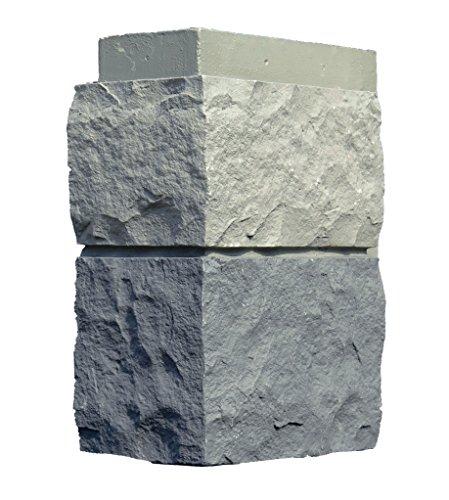 NextStone Random Rock Outside Corner Tri Gray