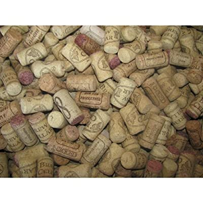 Recycled Premium Used Wine Corks, Assorted Printed Wine Corks, 500, Only Real Corks, No Synthetics - For Crafts Projects!
