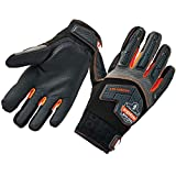Ergodyne ProFlex 9015F(x) Anti-Vibration Work Gloves, Certified, XX-Large, Black