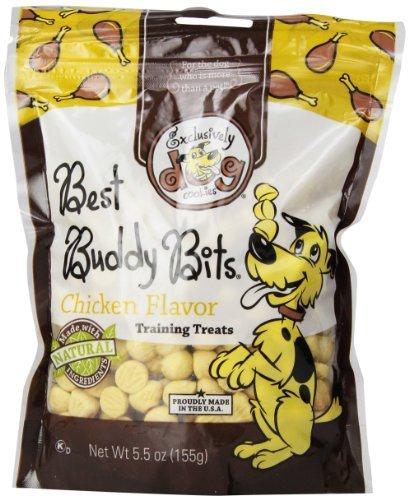 Best Buddy Bits Chicken (Exclusively Pet Best Buddy Bits-Chicken Flavor, 5-1/2-Ounce Package by Exclusively Dog)