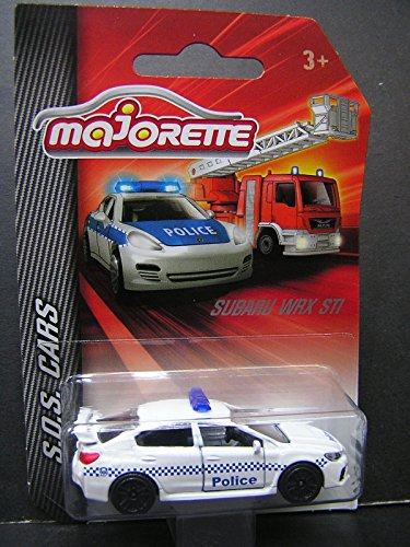 Renault Master Cars - Majorette 1:58 Metal DieCast model RENAULT MASTER - Police car