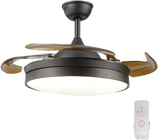 GaoHX 42inch,65W Moderno Hogar luz del Ventilador de Techo con luz ...