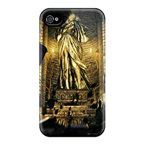Iphone 4/4s Fnk6929faGe Allow Personal Design Beautiful Dark Souls Pattern Scratch Protection Hard Phone Cases -JasonPelletier