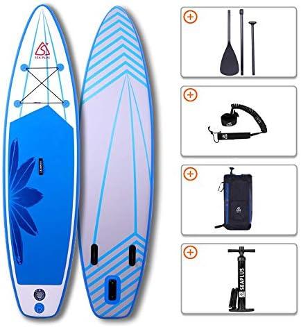 SUPボード SUPインフレータブルサーフボード フィットネスやフィッシングに適したボード 長320cm 幅81cm 厚15cm L-DQ