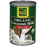 Native Forest Organic Classic Coconut Milk, 13.5 Ounce (Pack of 12)