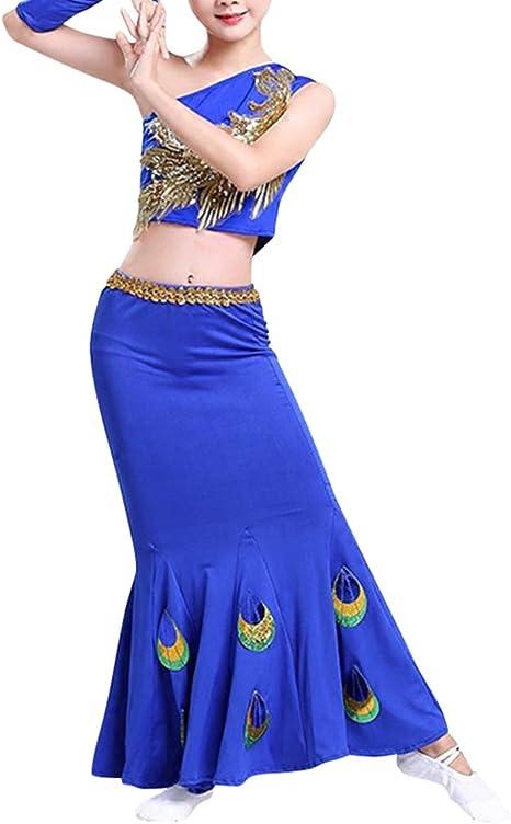Fuyingda Nueva Ropa de Baile para niños Dai Dance Belly DanceFolk ...