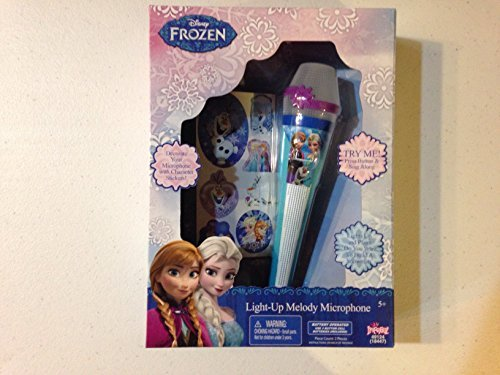 Frozen Sparkling Ice Light Up Melody (Sparkling Microphone)