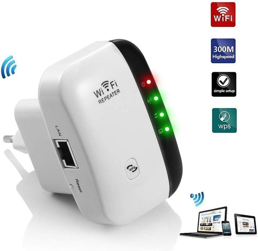 Amplificador De Rango De Wifi Super Booster 300mbps Super Boost Boost Para Alta Velocidad InaláMbrica