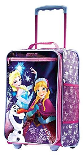 American Tourister Disney Kids 18 Softside Upright (Frozen Princesses)
