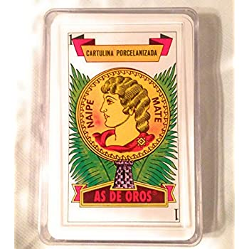 Amazon.com: 2 decks of Spanish Playing Cards - 40 card deck ...
