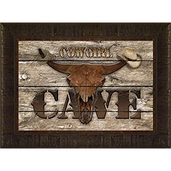 Amazon Com Old West Cowboy Cave By Todd Thunstedt 17 5x23