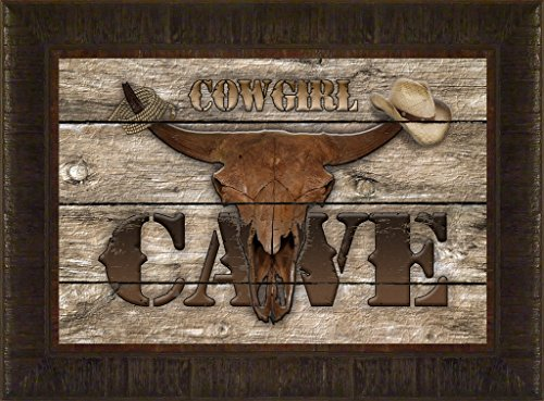 Cowgirl Cave By Todd Thunstedt 17.5x23.5 Rodeo Queen PRCA Association Stock Show Fort Worth Jackson Hole Deadwood Rapid City South Dakota National Western Denver Cow Longhorn Cattle State Fair Calgary - Wayne Preakness