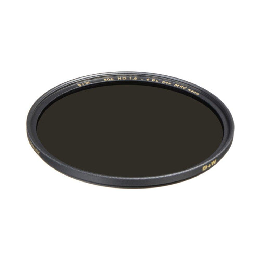 B+W 52mm Xs-Pro Neutral Density 1.8-64x Multi-Resistant Coating Nano (806M) Camera Lens Truer Neutrality - Full-Size, Gray (66-1089222)