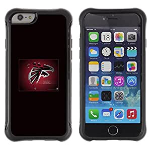 BullDog Case@ Atlanta Falcon NFL Rugged Hybrid Armor Slim Protection Case Cover Shell For iPhone 6 Plus CASE Cover ,iphone 6 5.5 case,iPhone 6 Plus cover ,Cases for iPhone 6 Plus 5.5