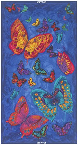 - Timeless Treasures Monterey Butterfly Quilt Fabric 24