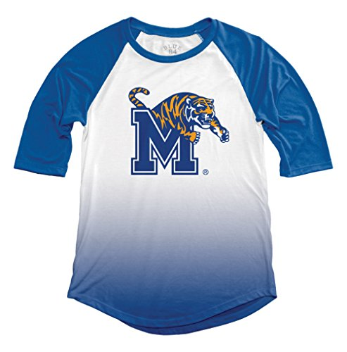 NCAA Memphis Tigers Adult Women NCAA Women's Sublimated Baseball Tee,x Large,Royal