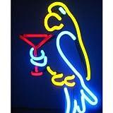 Neon Lamp Margarita Parrot
